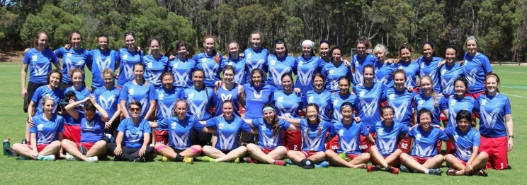 3 teams worth of Kaos players at the 2017 WA Championships in Margaret River