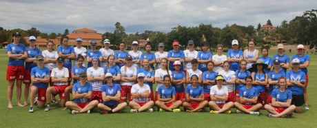Kaos Ultimate Club 3 teams at Western Regionals February 2018