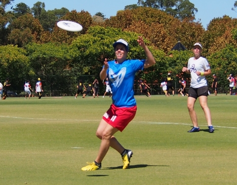 Sabrina Moro - Kaos Ultimate Frisbee Club Perth