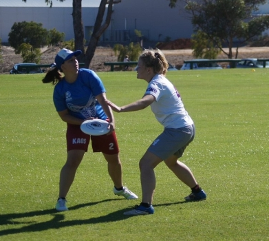 Lisa Finch - Kaos Ultimate Frisbee Club Perth