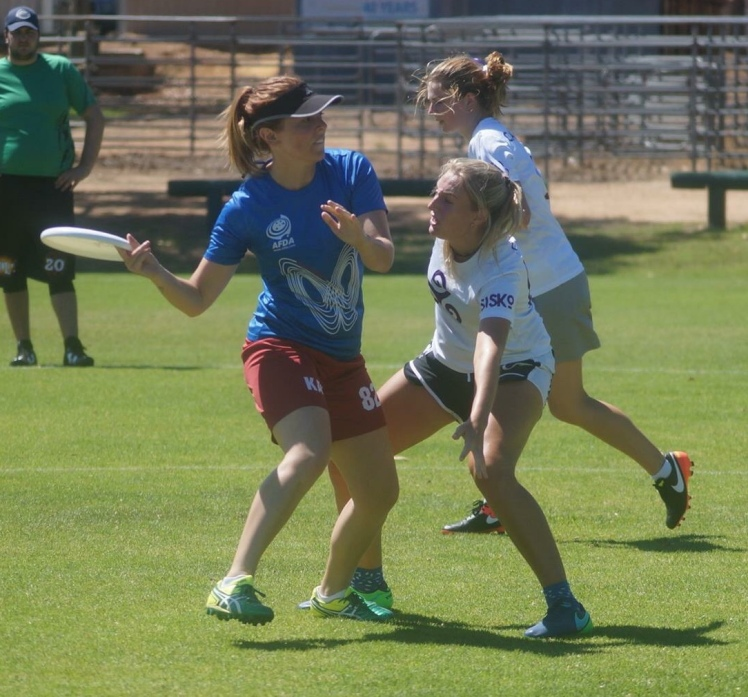 Sophie Thompson - Kaos Ultimate Frisbee Club Perth